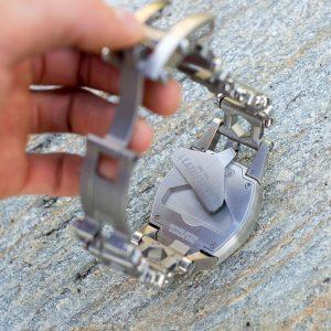Leatherman TREAD™ TEMPO karóra multiszerszám, ezüst